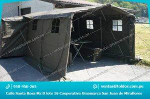 Carpas Humanitarias en Lima