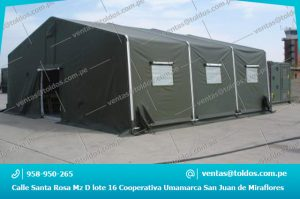 Carpas Humanitarias de Rescate en l.ima