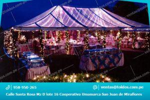 Carpas para Eventos Elegantes en Lima