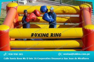 Ring Inflables Deportivos en Lima