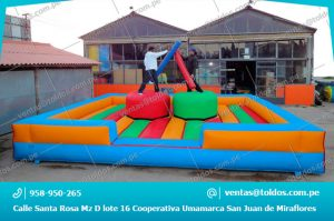 Inflables deportivos Boxeo Inflable Ring Arena