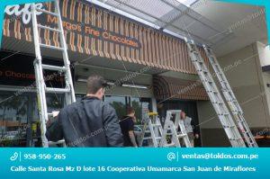 Mantenimiento de Toldos, Carpas y Estructuras Metalicas en Lima