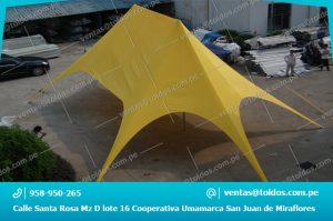 Toldos Araña para Publicidad y eventos en Lima