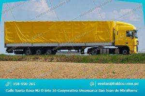 Toldos para Camiones y Vehiculos Pesados
