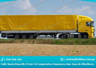 Toldos para Camiones y Vehiculos Pesados 002