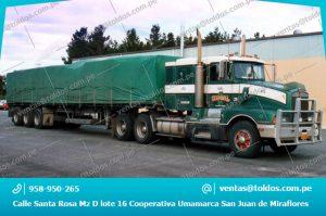 Toldos para Camiones, Vehiculos pesados y Trailers en Lima