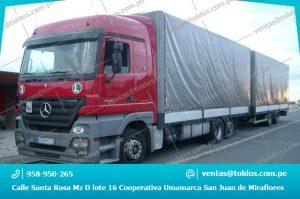 Toldos para Camiones y Vehiculos Pesados en Lima