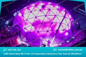 Toldos tipo Domo Geodésico para Eventos y Celebraciones en Lima