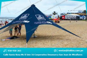 Toldos Estrella para Publicidad y eventos en Lima