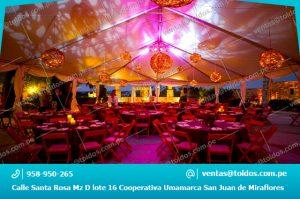 Toldos para Eventos y Fiestas en Lima
