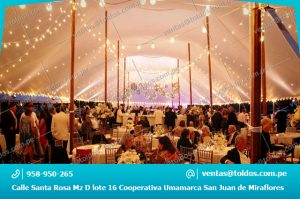Toldos para Eventos y Ceremonias