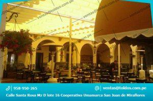 Toldos para Hoteles en Lima